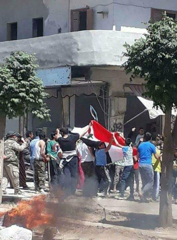 Revolte armate puternice, impotriva ocupatiei americane, in nordul Siriei. [FOTO-VIDEO]